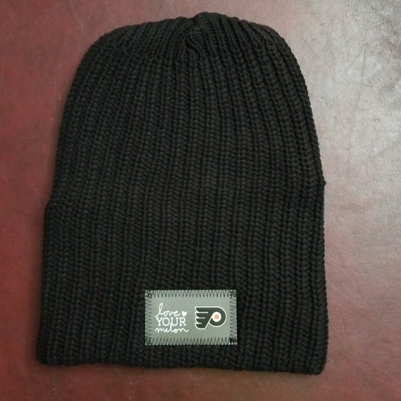 554eac993e7 Love Your Melon Accessories - Love Your Melon Philadelphia Flyers Beanie